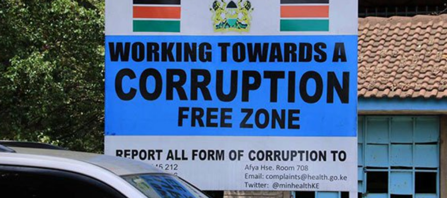 Corruption news kenya